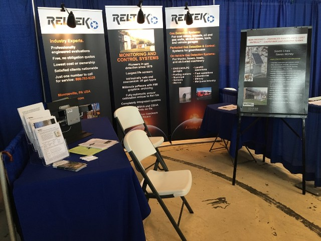 Rel-Tek Corporation's OHIO VALLEY OIL and Gas Expo Booth number 2 photo